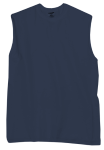 True Navy Sleeveless T-Shirt